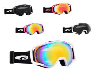 Gogle narciarskie z korekcją